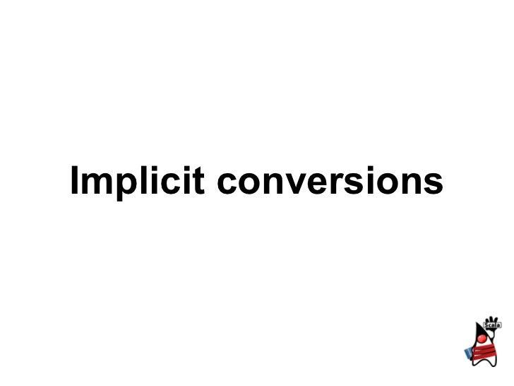 2.3 implicits