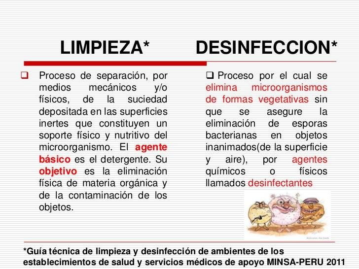 Limpieza y desinfecci n sala operaciones cicat salud for Programa de limpieza y desinfeccion de una cocina
