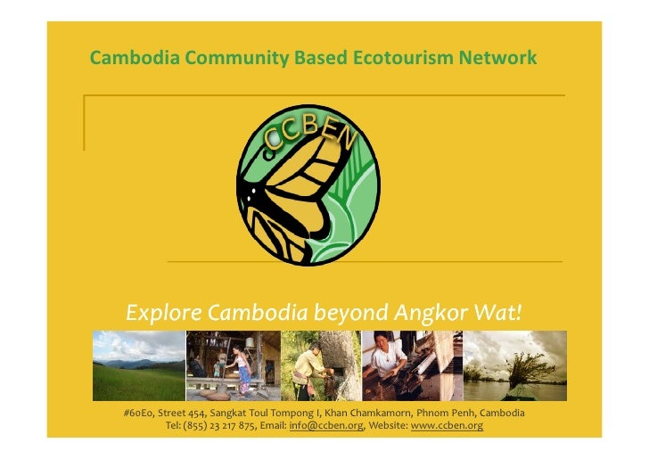 2차지속관광포럼-3.캄보디아의 지속가능한 여행(sinat hin)