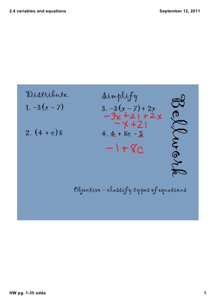 2.4variablesandequations                                September12,2011       Distribute.                     Simpli...