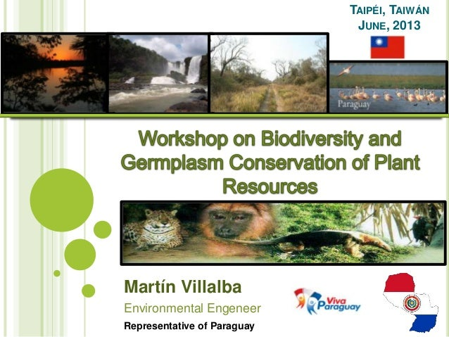 Paraguayan Report about Biodiversity