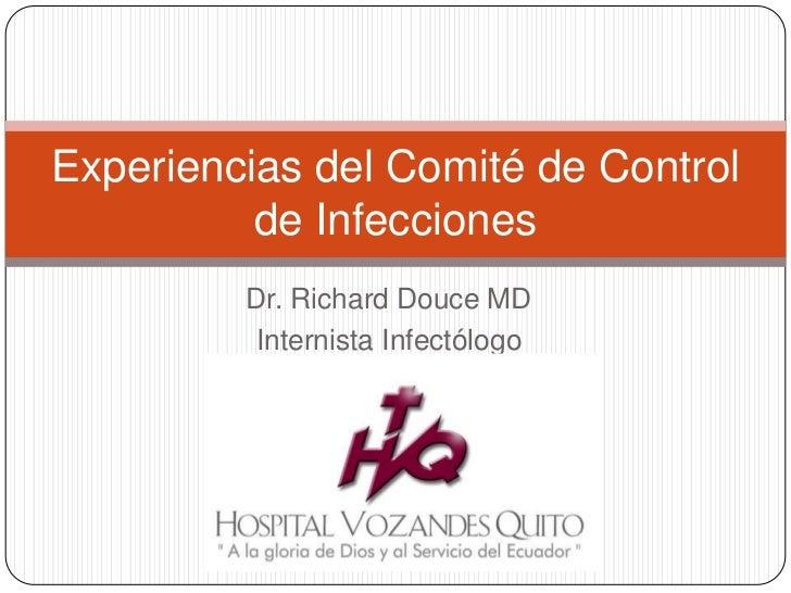 2.5.411 expiriencias del comité de control de infecciones dr douce