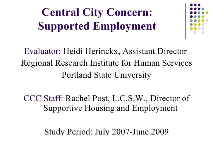 2.5 Employment and Community Engagement Strategies for Homeless People with Disabilities (Post)