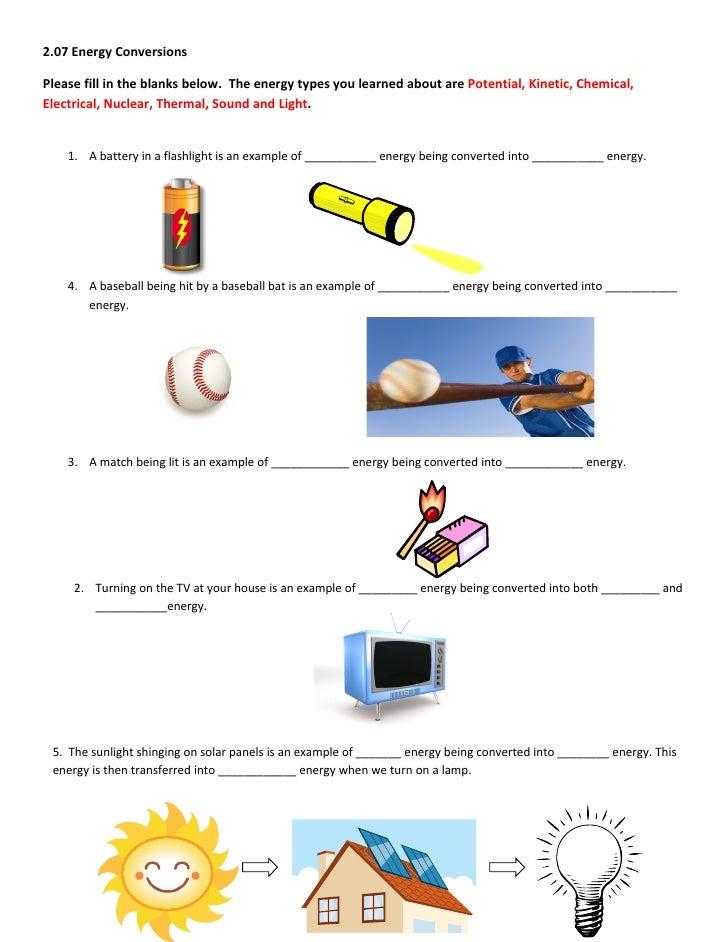 energy transformations worksheet – Multiple Transformations Worksheet