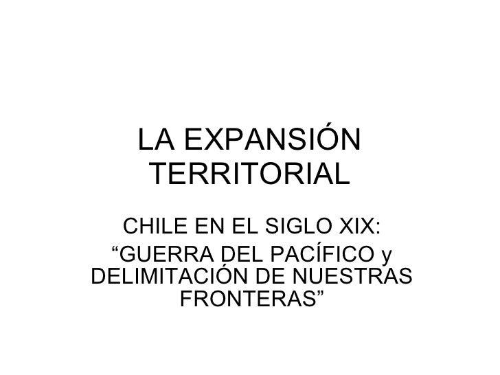 2.9. La ExpansióN Del Territorio