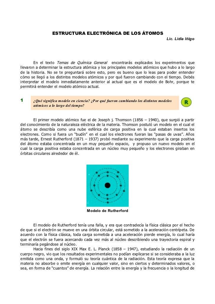 ESTRUCTURA ELECTRÓNICA DE LOS ÁTOMOS                                                                                    Li...