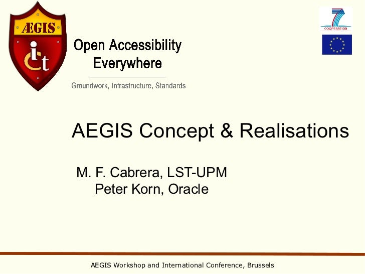 2. aegis concept and realisations   conference v3