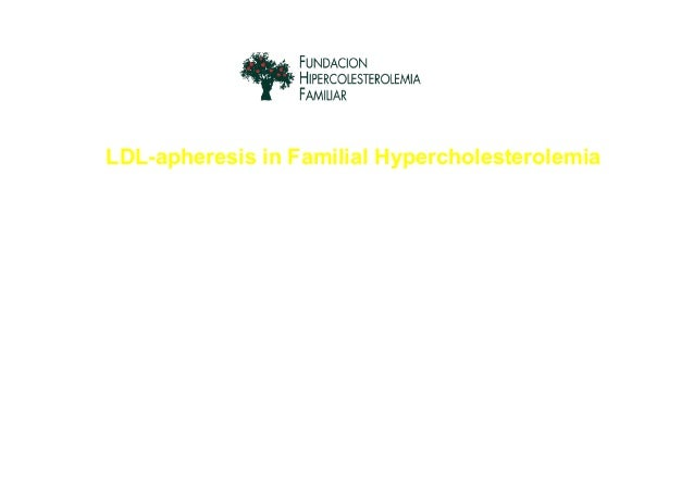 LDL-apheresis in Familial Hypercholesterolemia The sooner the better to avoid cardiovascular complications Dr. Rodrigo Alo...