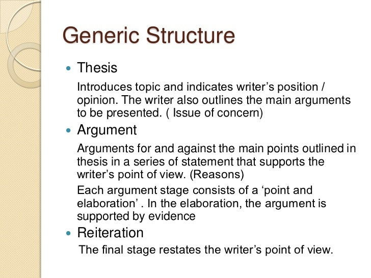 generic structure of hortatory exposition english language essay Generic structure of analytical exposition  language features of analytical exposition  are widely needed and that is a big chance for english master in that.