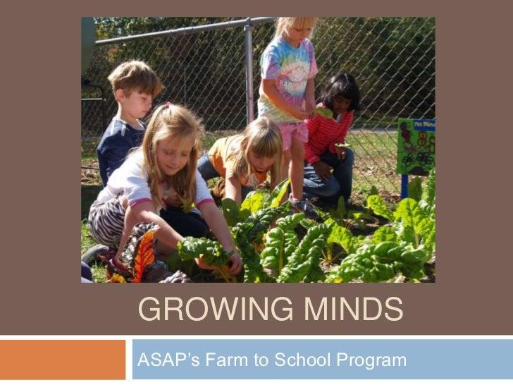 Anna Littman- Growing Minds and ASAP 1-23-2012