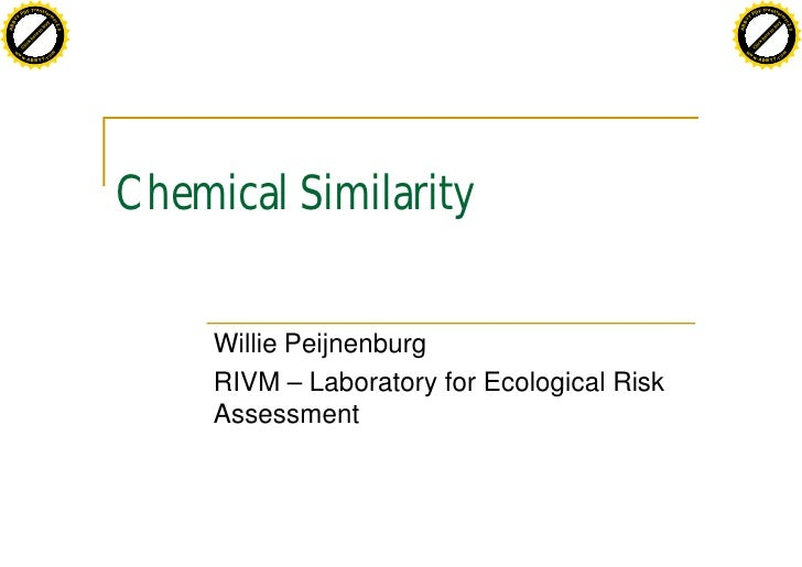 Chemical Similarity