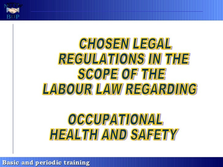 [kierownicy 2 - en] chosen legal regulations in the scope of the labour law regardning