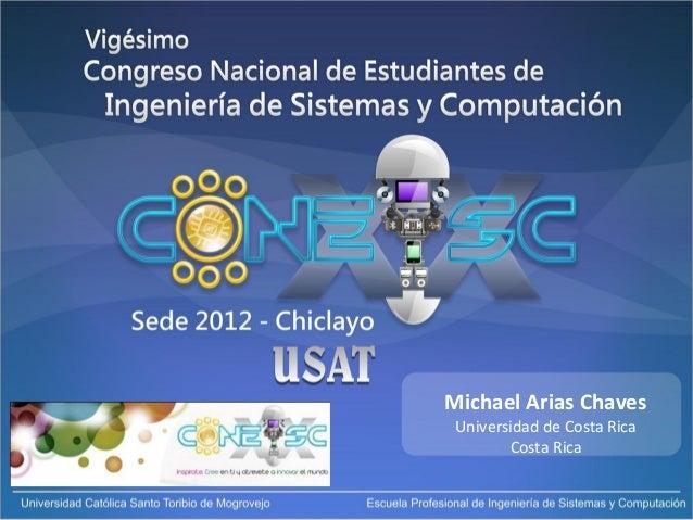 Michael Arias ChavesUniversidad de Costa RicaCosta Rica