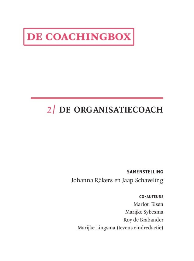 2   de organisatiecoach