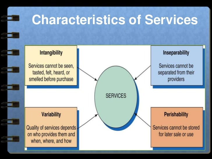 "classification of services Classification and characteristics of a service 1 characteristics & classification of services 2 service definition "" a service is an act of performance that one party can offer to another that is essentially intangible and does not result in the ownership of anything its production may or may."
