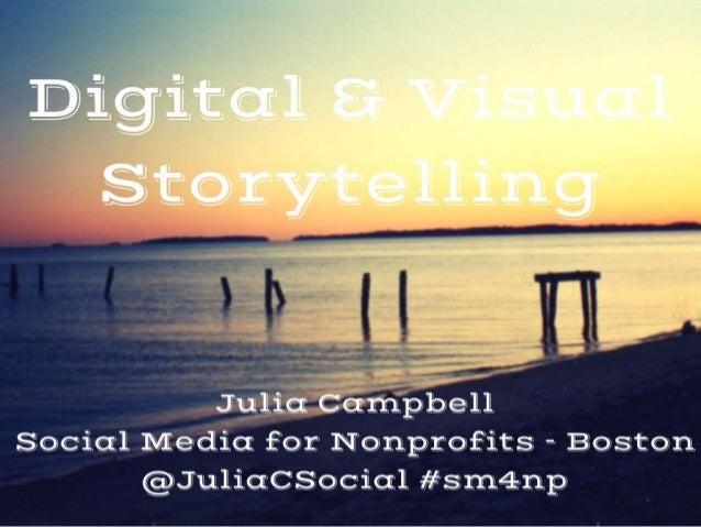 Digital & Visual Storytelling