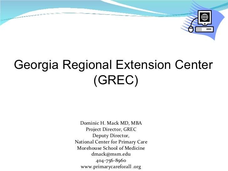 Grec Program Overview
