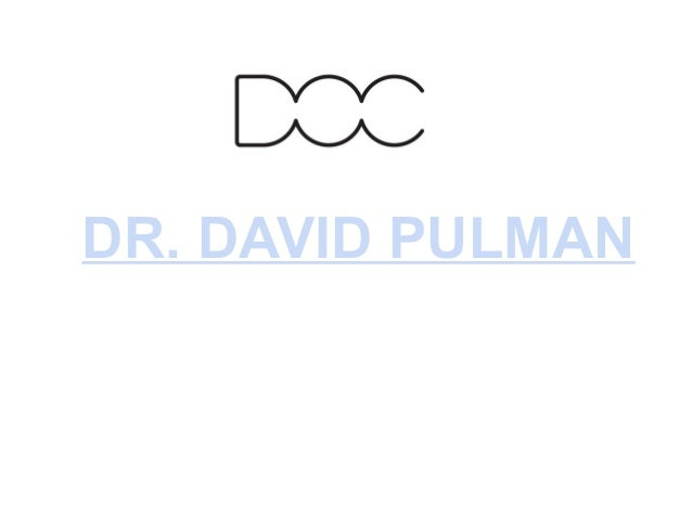 Dr. david pulman