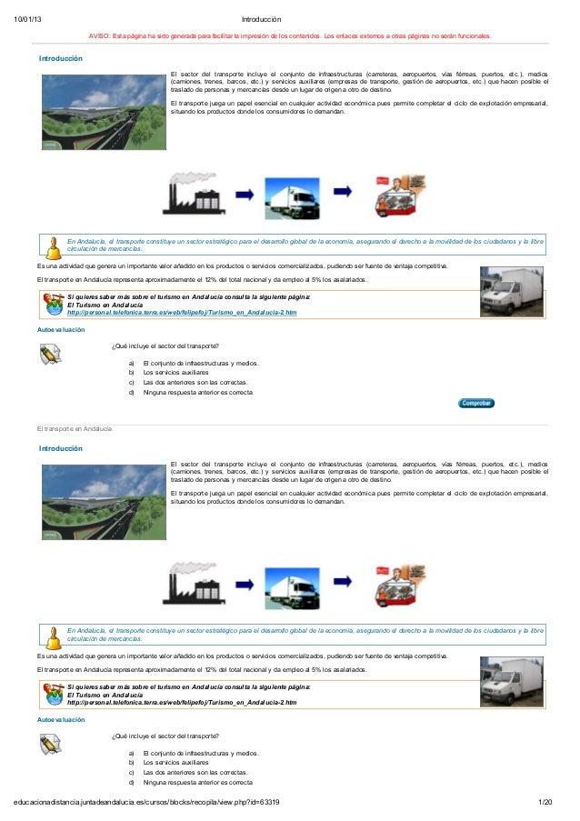 10/01/13 Introducción1/20educacionadistancia.juntadeandalucia.es/cursos/blocks/recopila/view.php?id=63319AVISO: Esta págin...