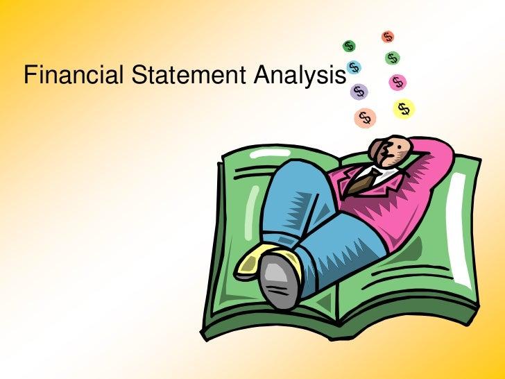 2. financial statement analysis