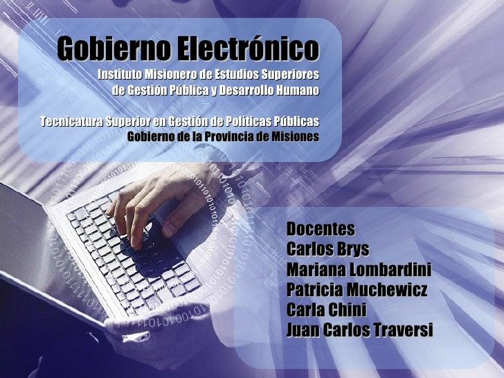 2   Gobierno Electronico Imes   Dimensiones De Analisis
