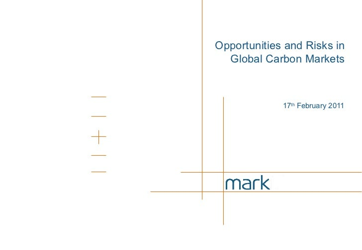 Opportunities and risks in carbon markets final