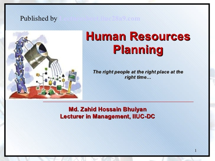 Chapter 2.hr planning