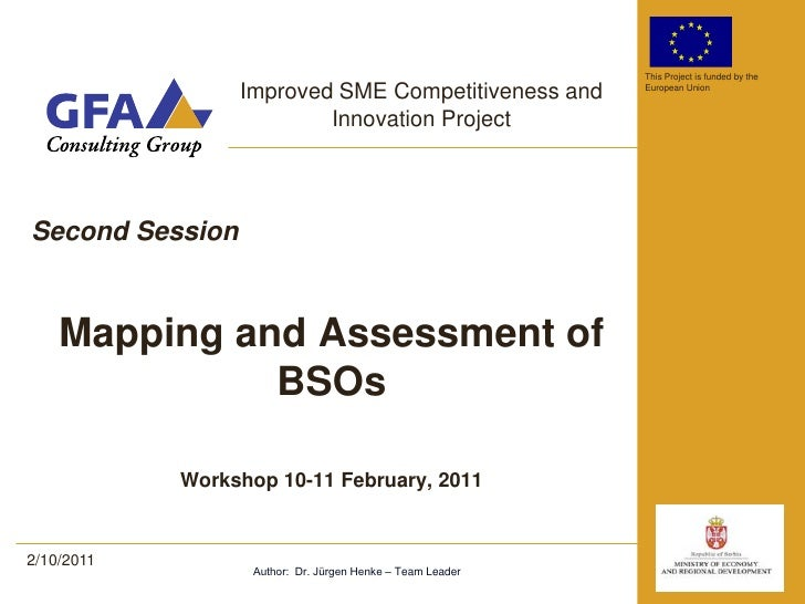 icip workshop mapping & assessment