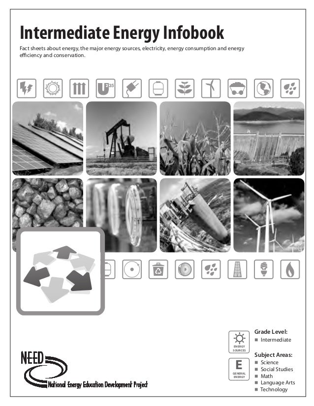 Intermediate Energy InfobookFact sheets about energy, the major energy sources, electricity, energy consumption and energy...