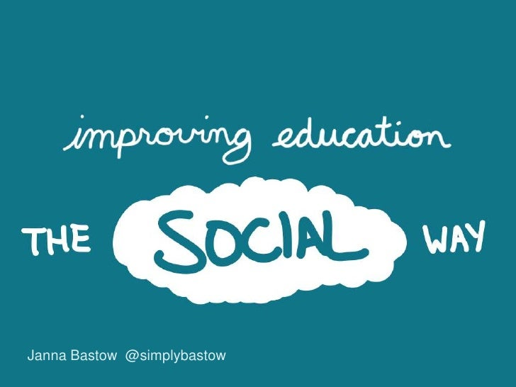 Solving education problems the social way