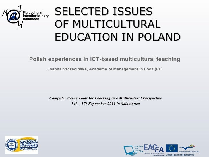 Joanna - Selected issues of multicultural education in Poland
