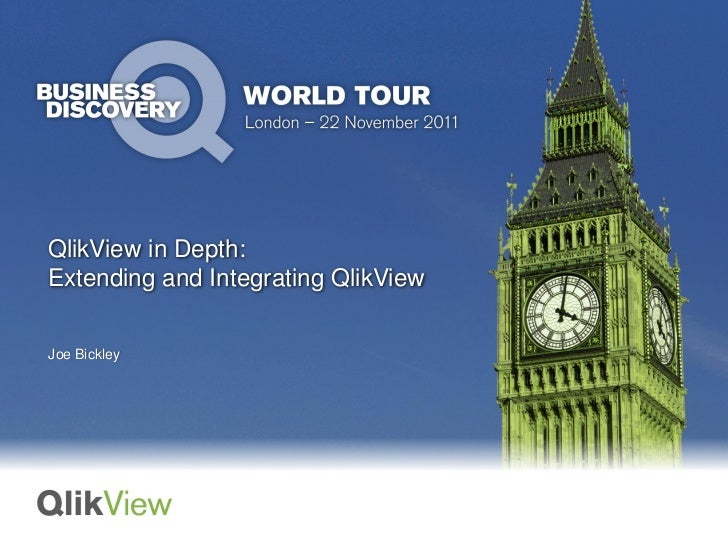 Extending and Integrating QlikView