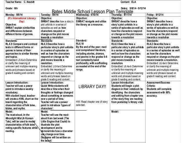 college level lesson plan template - 2 lesson plans 9 8 14 c nesbitt