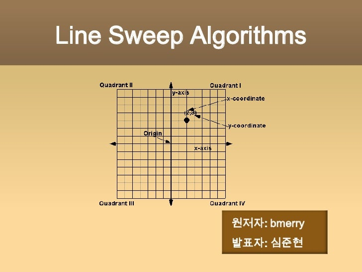 Line Drawing Algorithm Slideshare : Line sweep algorithms