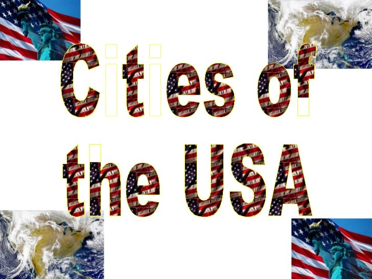 Cities of  the USA