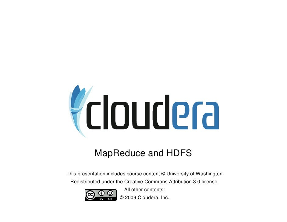 2 Map Reduce And Hdfs