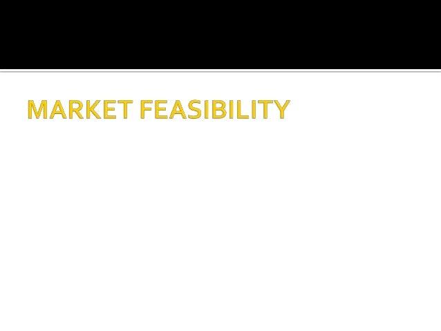2. market feasibility