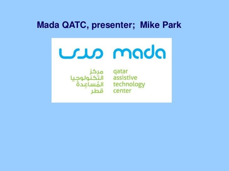Mr. Mike Park's presentation at QITCOM 2011