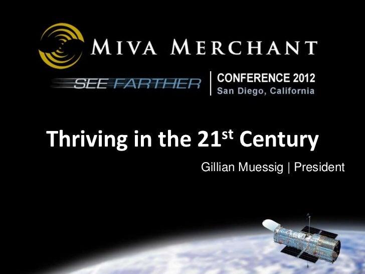 2012-03 Miva Merchant Conference Keynote - Communities