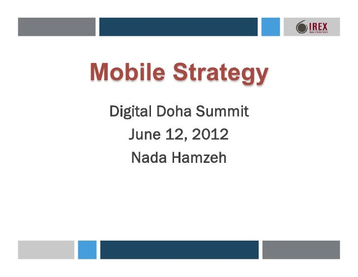 Digital Doha Summit - Mobile