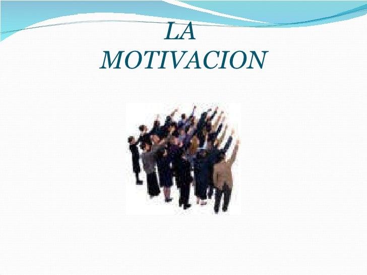 2. MotivacióN