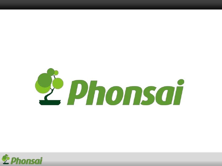 Create, send and report mobile applications - phonsai
