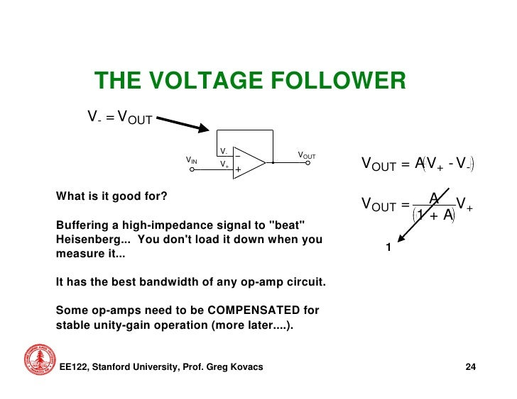 op amp voltage follower pdf