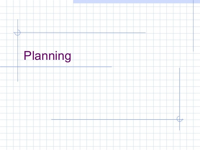 MGMT module 2 planning