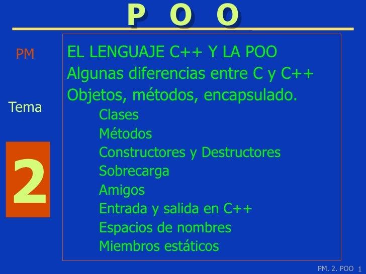 2 POO Presentación