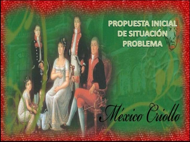 PROPUESTA INICIAL DE SITUACIÓN PROBLEMA<br />