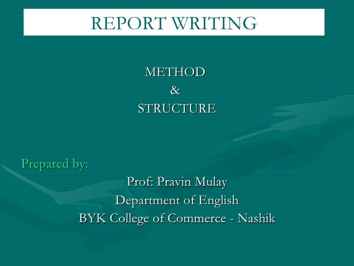 <ul><li>METHOD  </li></ul><ul><li>&  </li></ul><ul><li>STRUCTURE </li></ul><ul><li>Prepared by: </li></ul><ul><li>Prof: Pr...
