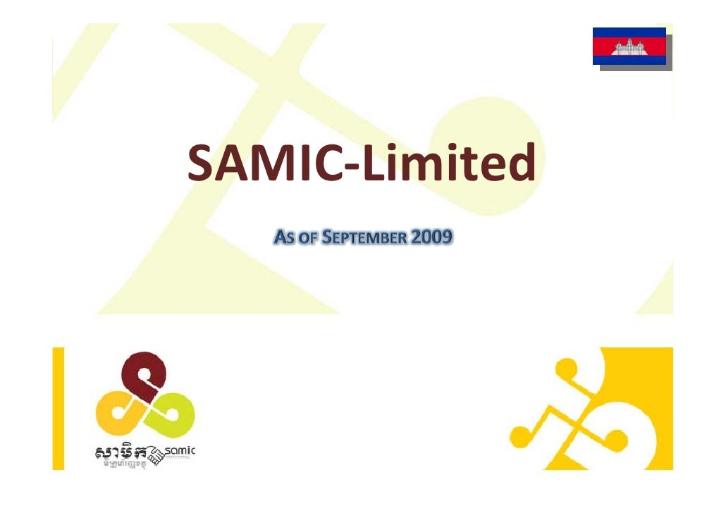 SAMIC‐Limited