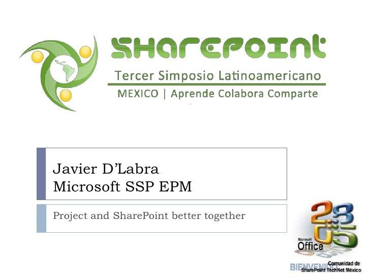 2 - SharePoint 2010 y Project Server 2010, por Javier D Labra