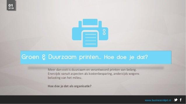 Groen en Duurzaam Printen